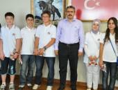 BAŞARILI ÖĞRENCİLER ALICIK'I ZİYARET ETTİ!