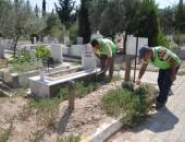 Mezarlıklar Kurban Bayramına  Hazır!