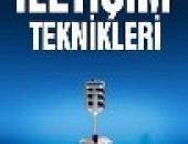 """""""İLETİŞİM TEKNİKLERİ"""" KİTABI ÇIKTI!"""