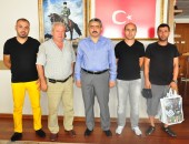 GURBETÇİ EGELİLERDEN BAŞKAN ALICIK'A ZİYARET!