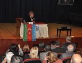 PROF.Dr.HANIM HALİLOVA, NAZİLLİ'DE KONFERANS VERDİ!