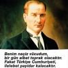 Belediye Başkanı Haluk  Alıcık'ın 10 Kasım mesajı