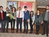 CHP Nazilli Gençlik Kollarından Ziyaret