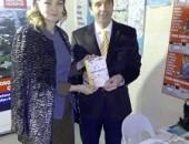 OSMAN GİRGİN KİTAP STANDINDA DR. GANİRE PAŞAYEVA