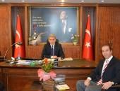EĞİTİMCİ-YAZAR OSMAN GİRGİN'DEN NAZİLLİ KAYMAKAMI'NA ZİYARET!