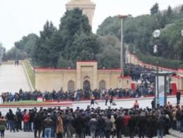 AZERBAYCAN'DA 20 OCAK TRAJEDİSİNİN ÜZERİNDEN 31 YIL GEÇTİ