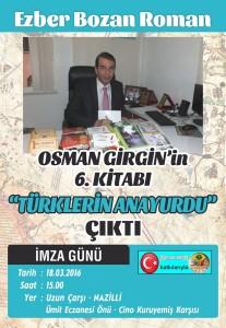 Türklerin Anayurdu afiş